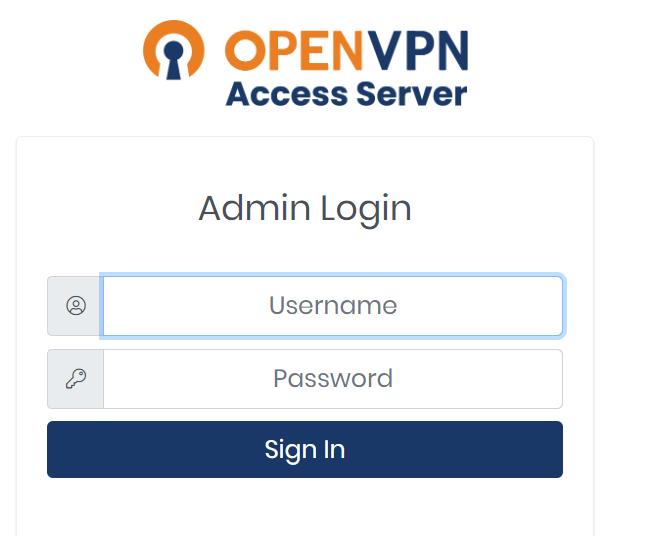 OpenVPN Login